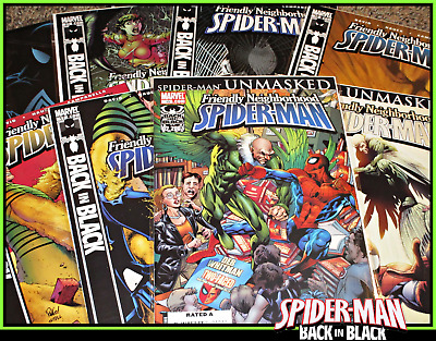 Friendly Neighborhood Spider-Man #15-22 Back In Black Set Marvel High-Grade