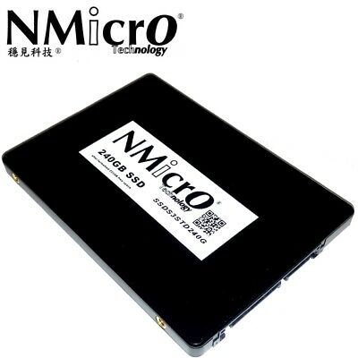 NMicro 240G 240GB SATA III 3D NAND Internal Solid State Drive SSD 7MM 2.5""