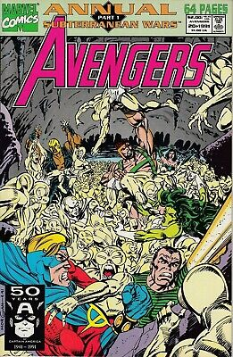 Marvel Comics The Avengers Annual No. 20 of 23, 1991 Very Fine