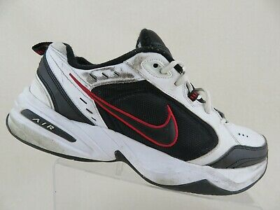 choose latest fashionable style limited style NIKE AIR MONARCH White/Red Sz 13 4E Extra Wide Men Running Shoes