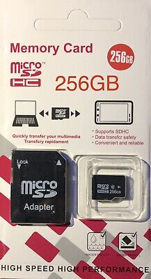256GB Micro SD Card Class 10 TF Memory SDHC SDXC 256G For Phone Tablet Camera