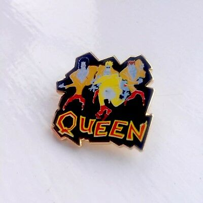 QUEEN Freddie Mercury A KIND OF MAGIC Pin Badge, Inferno Alchemy Poker Rox Etc..