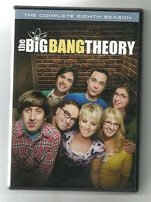 The Big Bang Theory: The Complete Eighth Season (DVD, 2015) - Used