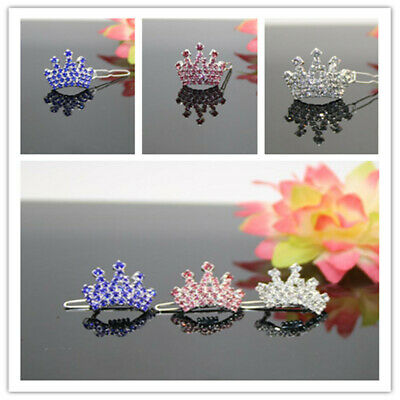 Matching Pet Cat Dog Hair Clips Puppy Bling Accessory Crystal Hairpin 1PC