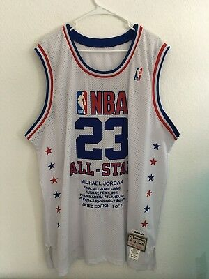 2299bde921a Authentic Michael Jordan All Star Mitchell & Ness Jersey Men's Size ...