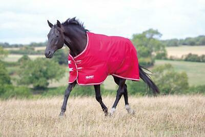 Red Shires Tempest Original Air Motion Horse Turnout Rug