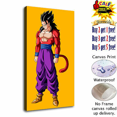 Dragon Ball Gohan HD Canvas Print Painting Home decor Room Wall art Picture