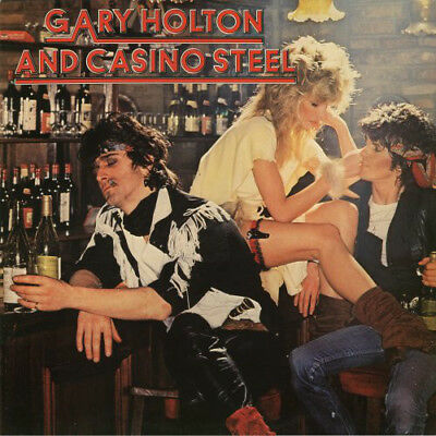LP - Gary Holton and Casino Steel - X-Records (Teldec) 1981 - Top Zustand !