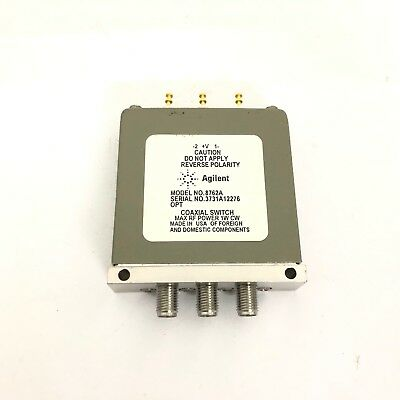 Teledyne Microwave CS533S9D-5 coaxial switch 22V Latching DC-22GHz