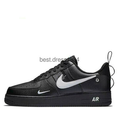 NIKE AIR FORCE 1 ONE UTILITY LOW EUR:35-45  LV8 TUTTE LE TAGLIE white weiße++