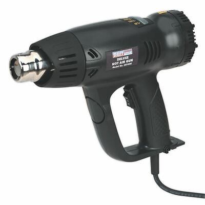 Sealey HS104K Deluxe Hot Air Gun Kit with LED Display 2000W 80-600�C