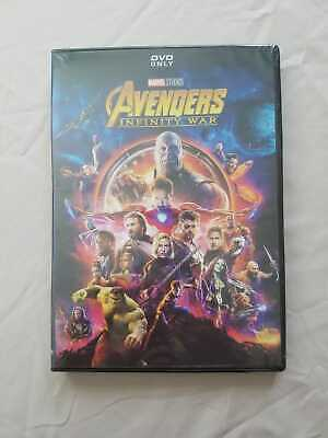 Avengers Infinity War (DVD, 2018) Brand New Sealed Free Shipping USA