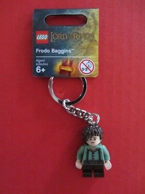 KEY CHAIN Lego The Hobbit Frodo Baggins  NEW with Tags LOTR Genuine Lego 850674