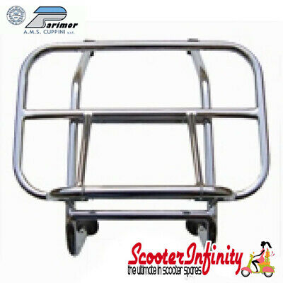 Carrier/Rack Front Chrome Vespa GTS/GTS Super/GTV/GT (Cuppini)
