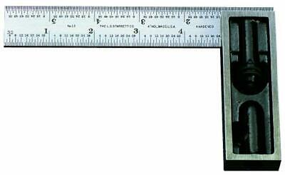 Starrett 13C 6-Inch Double Square With Hardened
