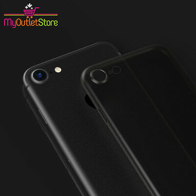 Ultra Thin Slim Hard 0.3mm Cover Case Skin Air Case for iPhone 8 Black