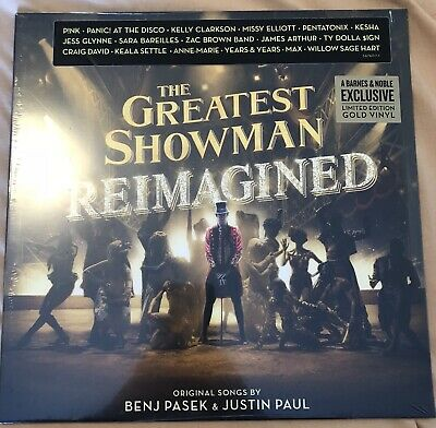 The Greatest Showman Reimagined Lp Gold Vinyl