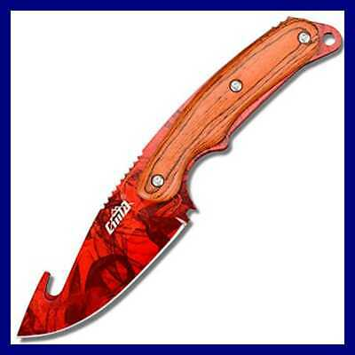 Real CS GO Gut Knife Counter Strike Fixed Blade Tactical Hunting Survival Knives