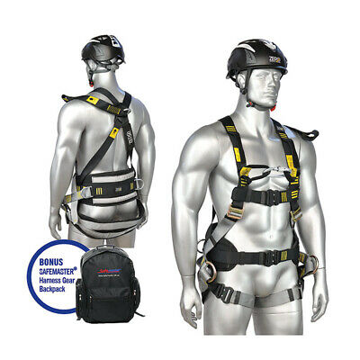 ZERO PLUS Riggers Harness, To Suit Tower/Pole Work/Linesman/Rescue