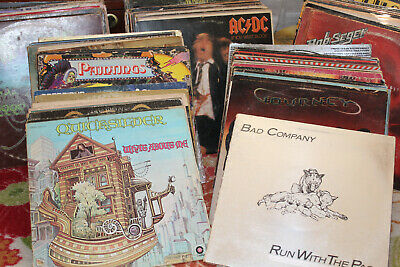 LAST ACT.!!! Vinyl records lot of  Classic Rock, Metal, Jazz, EVERYTHING!