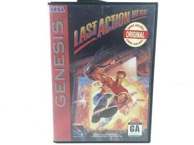Last Action Hero Sega Genesis 4559237