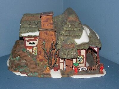 "Dept 56 Dickens' Village Series ""Crooked Fence Cottage"" Retired #58304"