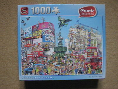 Puzzle King - Comic Collection (1000 P) Piccadilly Circus