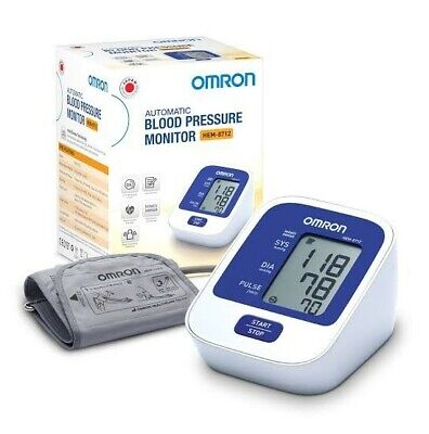 NEW Omron Automatic Blood Pressure Monitor HEM-8712 For Upper Arm Free Shipping.