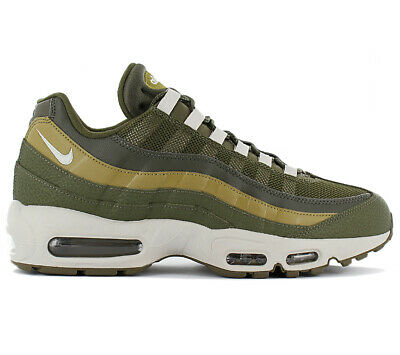 b42210a2b2 Nike Air Max 95 Essential Men's Sneakers Shoes 749766-303 Olive Green  Trainers