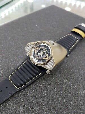 Limited Edition 100 pcs Gold PVD Azimuth Gran Turismo Auto Watch SWISS MADE 100%