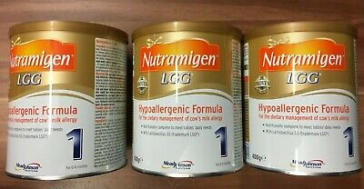 Nutramigen 1 with LGG - 3 x 400g tins - expiry : 04.01.2021 brand new