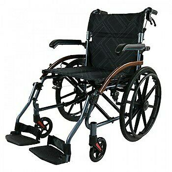 Wheelchair Urban Self Propelled with Attendant Brakes