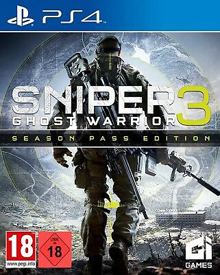 Ps4 Game Sniper Ghost Warrior 3 - Season Pass Edition New Merchandise