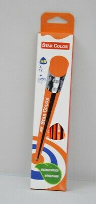 HB Pencils School Joiner Drawing Art Sketching 12 Pieces each with eraser