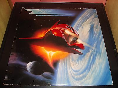 "ZZ Top Afterburner 12"" Vinyl Record Album 1-25342 1985 VG Condition"