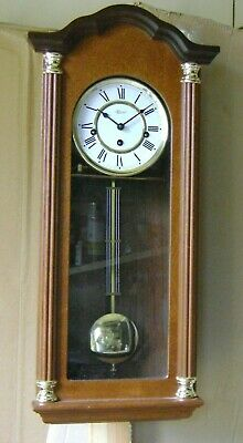 Reproduction Westminster Chime Vienna Wall Clock.