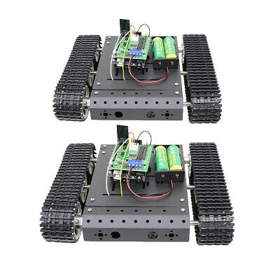 Robot Car Chassis Kit with 12V Motor for Arduino, WiFi Tank Chassis Robotics