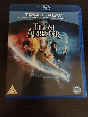 The Last Airbender, Blu Ray, DVD & Digital Copy, Very Good Condition