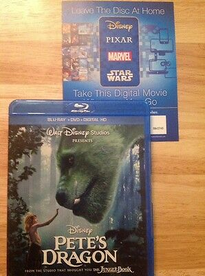 Petes Dragon (Blu-ray/DVD)Authentic US RELEASE
