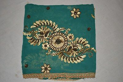 Exotic Vintage Ethnic Dupatta Embroidered Wedding Chunni Traditional Veil Stole