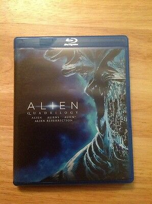 Alien Quadrilogy (Blu-ray Disc, 2014)Authentic US RELEASE