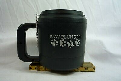 Paw Plunger for Dogs, Medium - Black