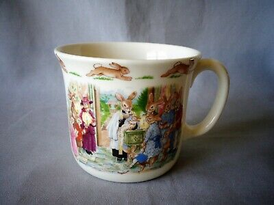 Royal Doulton Bunnykins Christening Cup Single Handle