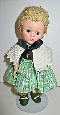 1952 VOGUE GINNY- Kindergarten Series- CAROL  short curly  blonde hair-dressed