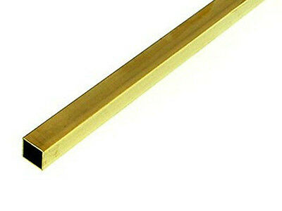 8262 x 3//16 in. GRAINGER APPROVED Brass Tubing Rectangular,3//32 in