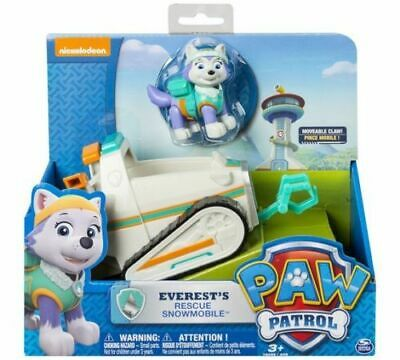 PAW Patrol Everest's Rescue Snowmobile Pup & Vehicle