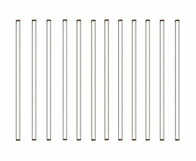 Glass Rod Chemistry Stirrer 12 Piece Set
