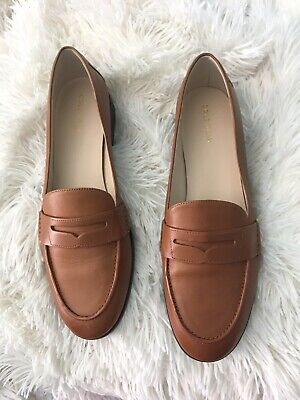 a090290ee24 SIZE 9B COLE Haan Women's Pinch Grand British Tan Penny Loafer