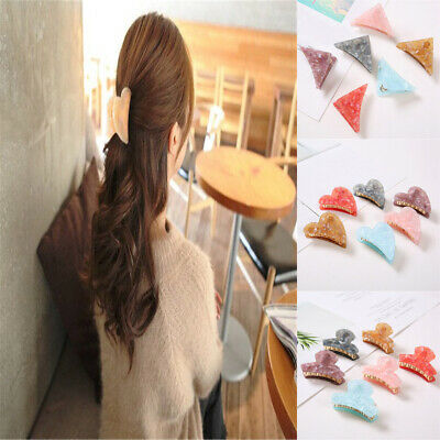 Lady Simple Metal Hair Claw Clips Hairband Barrette Crab Clamp Hair Accessories