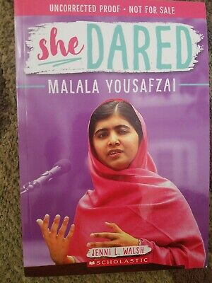 She Dared By Malala Yousafzai ARC Girl Activist New Kids Book